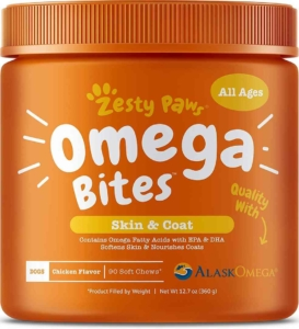 Zesty PawOmega 3 Fish Oil Chews